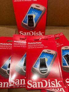 Sandisk MobileMate SDDR-121-G35  MicroSD HC M2 Card Drive Reader NEW SEALED☆✅❤️️