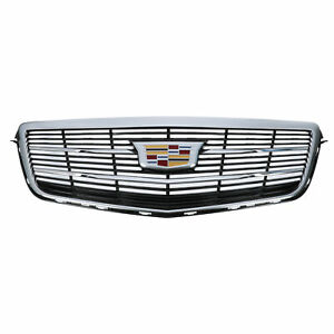OEM NEW 2015-2019 Cadillac ATS Front Grille w/ Emblem Chrome 22879627