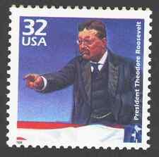 US. 3182b. 32c. Theodore Roosevelt. Celebrate The Century. MNH. 1998