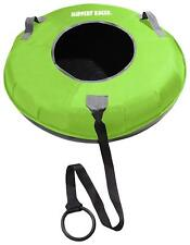 Slippery Racer Grande XL Commercial Inflatable Snow Tube Sled - GREEN
