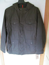 NWT Men's Docker's Dark Olive Polyester lining, 100% Nylon Coat/Jacket Size L