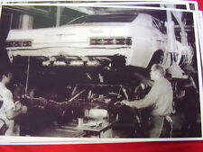 1966 CHEVROLET ASSEMBLY LINE  IMPALA ? CAPRICE?  11 X 17  PHOTO  PICTURE