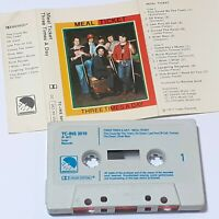 MEAL TICKET THREE TIMES A DAY 1977 CASSETTE TAPE ALBUM FOLK ROCK POP