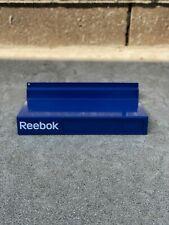 Reebok Rare VINTAGE Metal Shoe Shelf Shelves Display for Slat Walls Pump