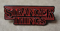 Stranger Things logo Pin cosplay prop costume