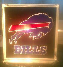 Lighted Buffalo Bills Glass Block Light~ Home Decor~Gift~Lamp
