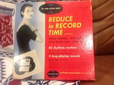 Impossibly rare first ever women's workout routine home book and records wow
