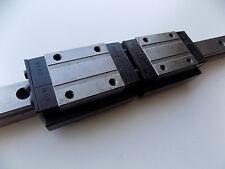 ROUNTER CNC LINEAR ACTUATOR slide rail 18 in long NBW-20TA bearing block A1