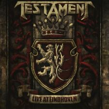 TESTAMENT - LIVE AT EINDHOVEN   CD NEUF