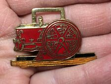 Fob of The Month Farm Machinery Vintage Watch Fob New Holland Brass Enamel