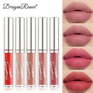 12 Colors Velvet Matte Lip Glaze Waterproof Long Lasting Lip Glaze Lipstick SALE