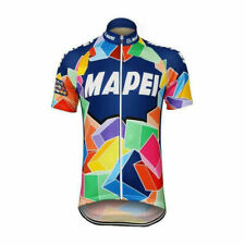 Retro  1993 Team Mapei  Jersey Cycling Jersey Short Sleeve