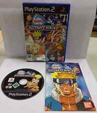 Game Gioco SONY Playstation 2 PS2 PSX2 PAL Play ITALIANO NARUTO ULTIMATE NINJA 2