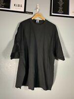 Vintage Gildan Black Blank VTG 3XL 3X Shirt Tee Short Sleeve