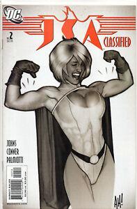 JSA CLASSIFIED #2 Adam Hughes 2nd Print VARIANT 2005