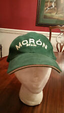 Moron Spain Ball Cap Hunter Green One Size Adult New