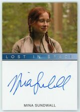 New listing 2019 Lost In Space Series 1 Mina Sundwall (Full Bleed) Autograph Extremely Ltd