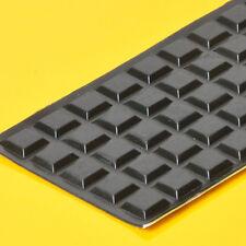 3M Rubber 50pcs 13x3mm Sticker Square Keystone Feet Radio Pedal Effect Cabinet