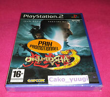 ONIMUSHA 3 SONY PS2 PLAYSTATION 2 NEUF SOUS BLISTER VERSION 100% FRANCAISE