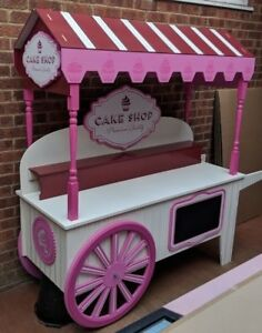 Cupcake and sweet cart for sale, candy cart, wedding,