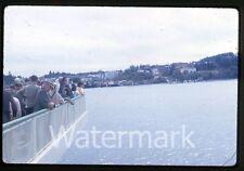 1962 kodachrome Photo slide ship trip Seattle WA to Victoria BC Canada binocular