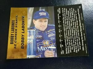 Bobby Labonte #19 Race Car Driver NASCAR 1994 Action Packed UNFOLDED