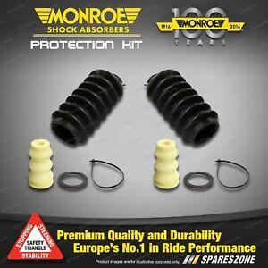 Rear Monroe Urethane Bumper & Dust Boot Kit for Holden Nova LE LF LG 89 - 96