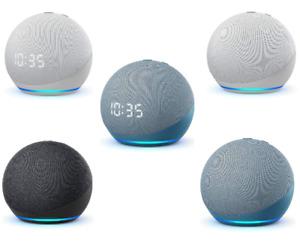 Amazon Echo Dot 4.Generation mit oder ohne Uhr SmartSpeaker Alexa Farbe wählbar