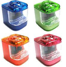 Jakar Double trou électrique à piles taille-crayon - couleur aléatoire