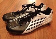 Adidas Scorch TRX Football Cleats Black/White Mens size 14 NEW