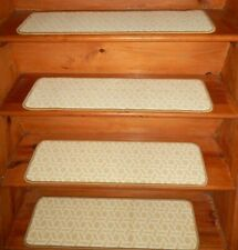 "14 Step = 9"" x 30"" + 1 Landing 30'' x 30'' Staircase Wool Woven Tufted"