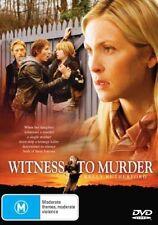 Witness To Murder (DVD, 2008)