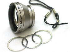 2X Tele Photo Magnetic Lens For Digital Camera Bower L for Camera from US Seller