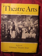 THEATRE ARTS July 1941 MARY MORRIS WILLIAM SAROYAN