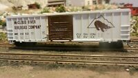 Athearn HO BB  50' Modern Railbox Boxcar McCloud River Upgraded, Exc.