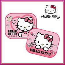2 X Ventana De Hello Kitty Coche Sun Shades persianas de protección UV Niños Niños Bebé