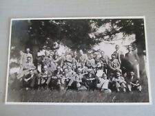 GWR SWINDON WORKS ADMIN STAFF OUTING EARLY 1930s RP POSTCARD
