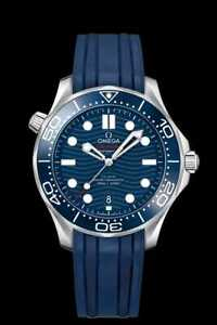 New Omega Seamaster Blue Dial Men's Watch