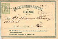 Finland Postal Stationery Card KORRESPONDANSKORT (ref. A56) FREE SHIPPING