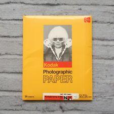 Kodak Photgraphic Paper 8x10 Kodabrome Ii Rc