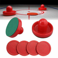 2-Pucks 4-Slider Pusher Air Hockey Set Home Table Game Replacement Accessories