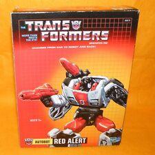 TAKARA 2005 TRANSFORMERS G1 RED ALERT REISSUE BOXED
