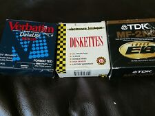 NEW TDK MF-2HD Diskettes Floppy Discs Electronic Boutique & Verbatim NF2-DD