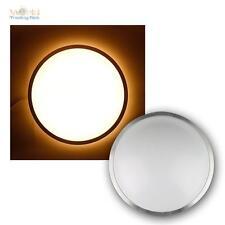 LED Deckenleuchte Alu IP44 Außenleuchte warmweiß 700lm 230V 12W Wandleuchte Lamp