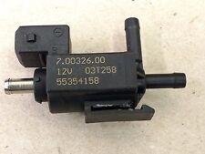 SAAB 93 9-3 2.0 TURBO AIR VACUUM BYPASS VALVE OEM 55354158 70032600