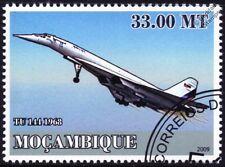 Sello de aviones de avión supersónico Tupolev Tu-144