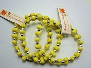 Despicable Me Minion Stretch Children's Yellow And Silver Bracelet New lot 3