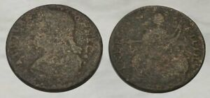 ☆ TOTALLY ORIGINAL !! ☆ Connecticut Copper Colonial Coin !! ☆ NICE !!