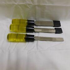 3 Pc. Wood Chisel Set