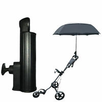 GOLF TROLLEY CART ANGLE UNIVERSAL ADJUSTABLE UMBRELLA HOLDER STAND ACCESS SUPER